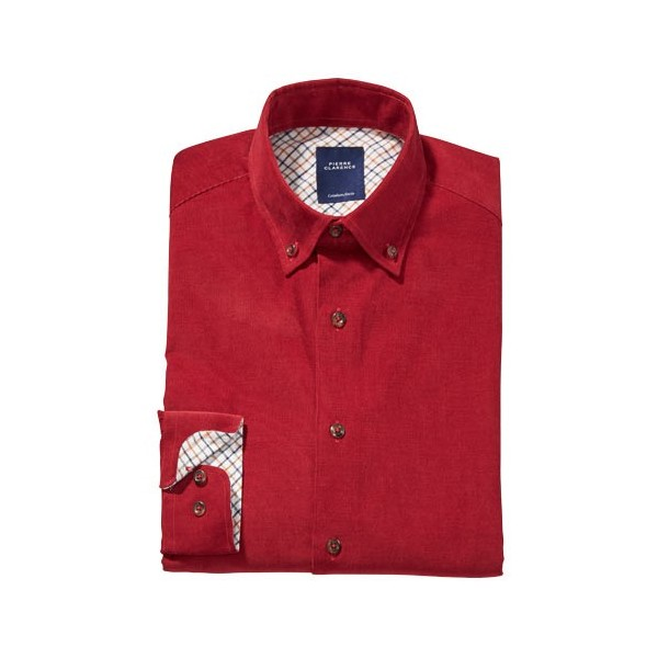 Chemise Velours Pierre Clarence
