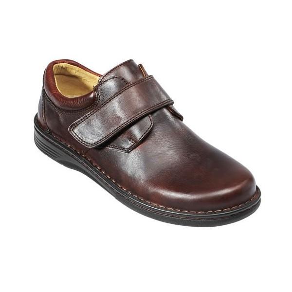Chaussures «Grande Largeur»  Spécial Confort Scratch