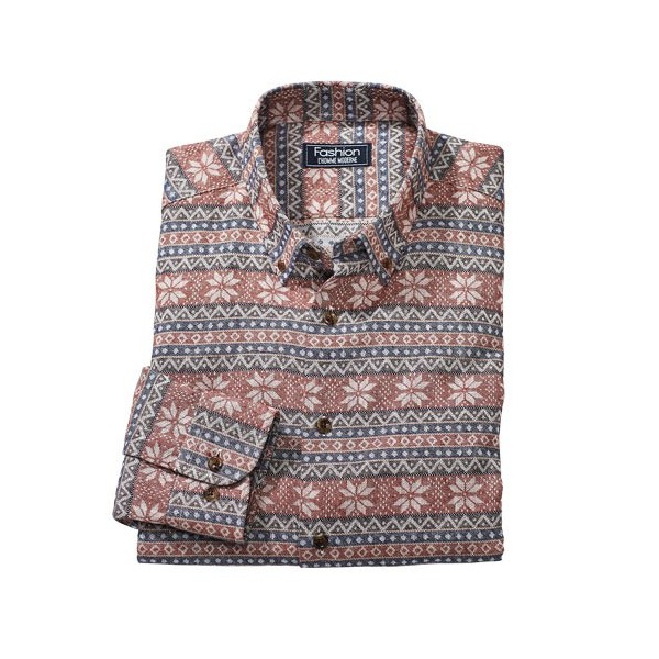 Chemise Flanelle Edelweiss