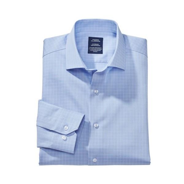 chemise sans repassage carreaux acheter l 39 offre de fashion l 39 homme moderne l 39 homme moderne. Black Bedroom Furniture Sets. Home Design Ideas