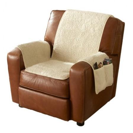 Couvre-fauteuil en laine