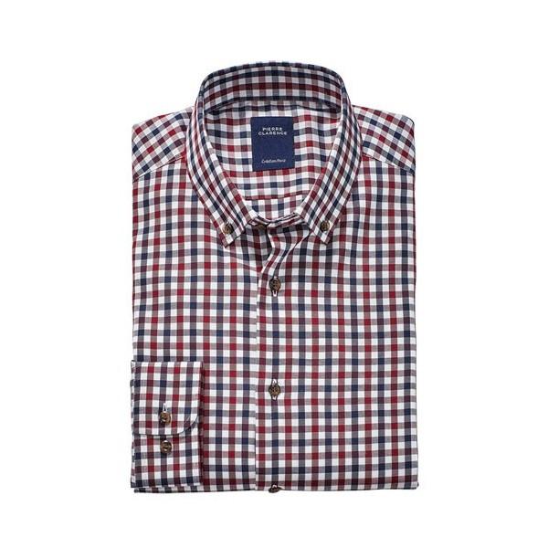 chemise twill carreaux bordeaux acheter l offre de fashion l homme moderne l homme moderne