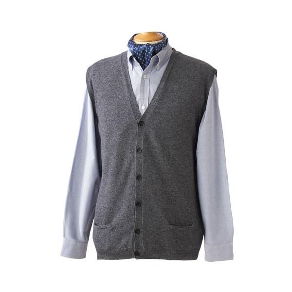 Gilet sans manches laine cachemire anthracite acheter - Acheter laine xxl ...