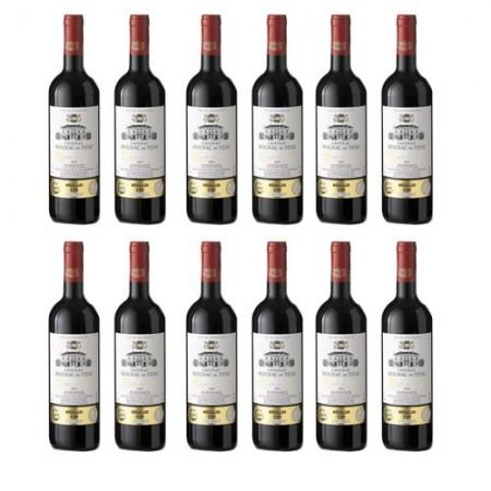 12 bouteilles Château Reignac de Tizac 2015