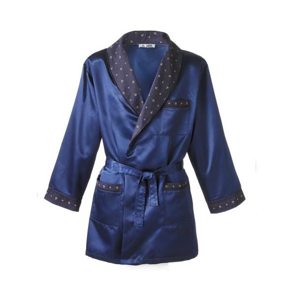 Veste d int rieur fleurs de lys acheter pyjamas robes for Vetement d interieur homme