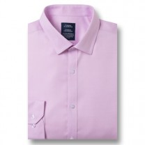 Chemise Micro-Oxford sans repassage Rose