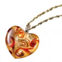Pendentif Coeur de Murano