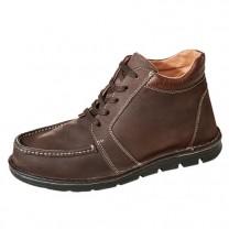 Chaussures montantes à talonnettes intégrées