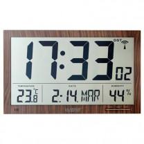 Horloge radio-pilotée «Maxi chiffres»