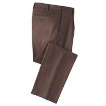 Pantalon de voyage chaleureux Marron