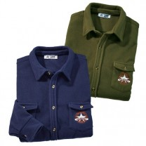 Chemises micropolaire Rangers - les 2