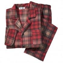 Pyjama micropolaire à carreaux