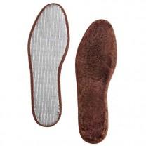 Semelles laine & aluminium - la paire