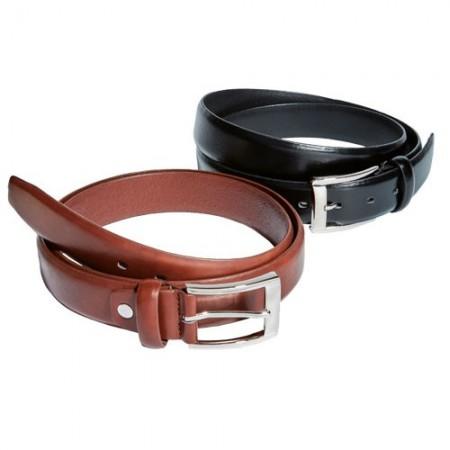 Duo de ceintures en cuir