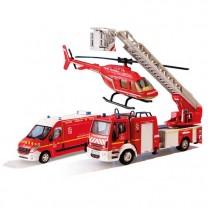 Véhicules des pompiers - les 3