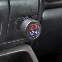 Voltmètre digital de voiture