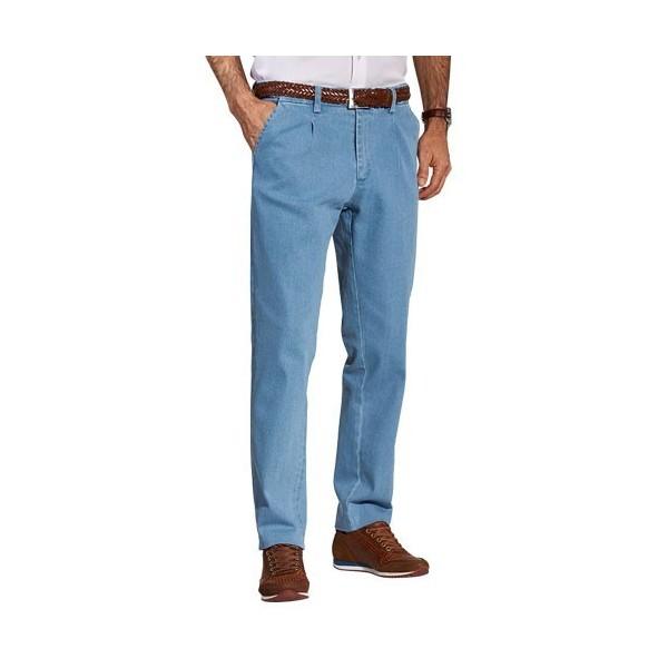 jean chambray grandes tailles acheter pantalons jeans l 39 homme moderne. Black Bedroom Furniture Sets. Home Design Ideas