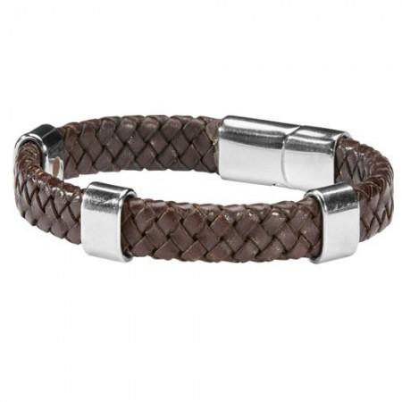 Bracelet Cuir Magnétique