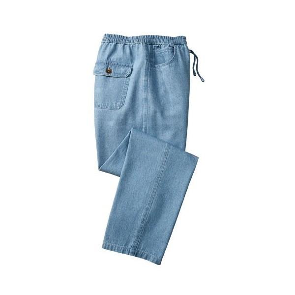 5e9fed30b4c28 Pantalon Chambray Week-End - Acheter Pantalons, jeans - L'Homme Moderne