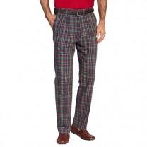 Pantalon Carreaux Seersucker