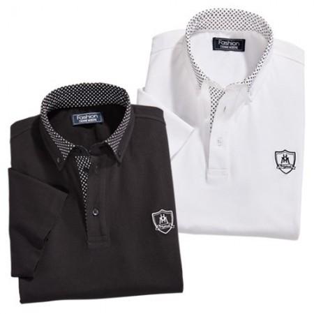Polos Black & White - les 2