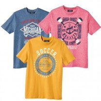 Tee-Shirts US Sport - les 3