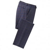 Pantalon Carreaux Laine fraîche