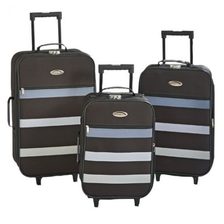 Valises Travel-Team - les 3