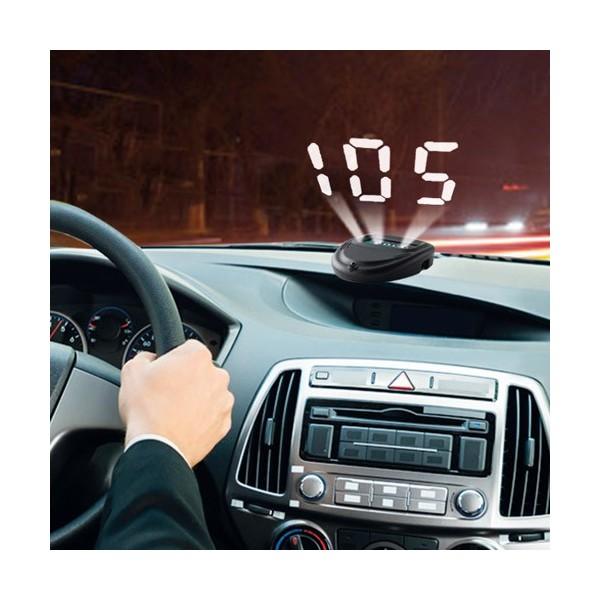 Afficheur de vitesse «tête haute»
