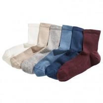 Chaussettes basses - les 6 paires