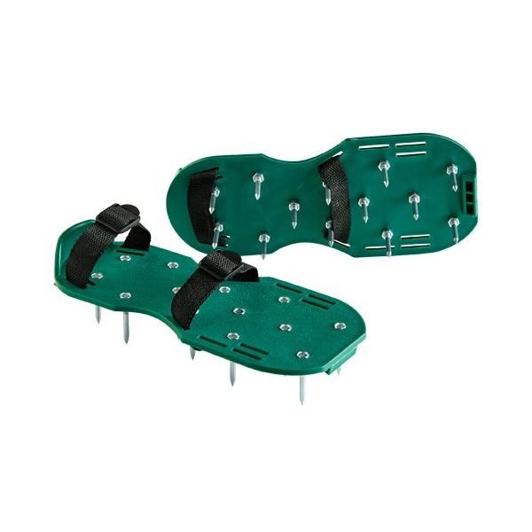 Semelles «aérateurs» de gazon