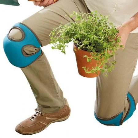 Protège-genoux à mémoire  de forme - les 2