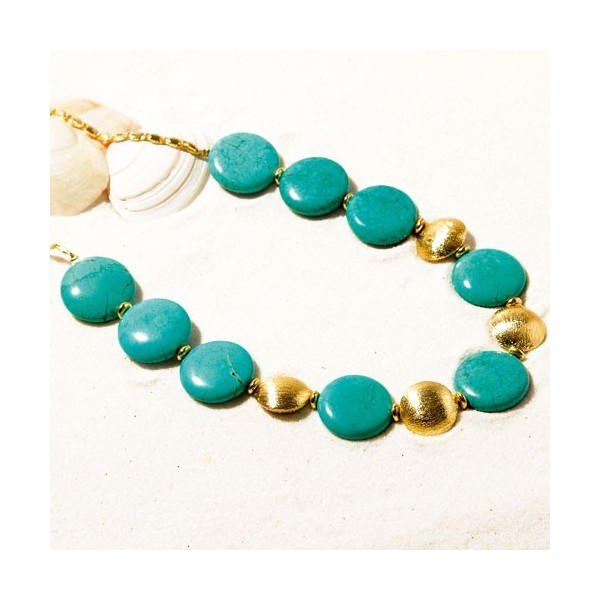 Collier turquoises