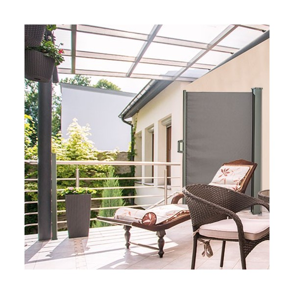 pare vue retractable top brise vue jardin acier corten. Black Bedroom Furniture Sets. Home Design Ideas