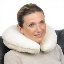 Coussin nuque laine