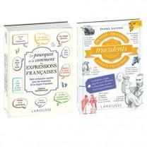 Lot de 2 ouvrages : Dictons et expressions françaises