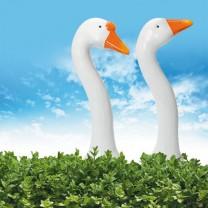 Oies décoratives - les 2