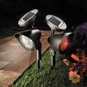 Spots solaires télécommandés - les 2