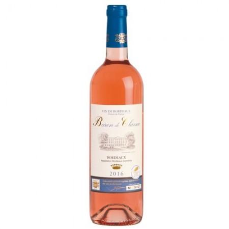 Baron de Clarsac Rosé 2016 - les 12 bouteilles