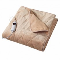 Couverture Polar Fleece chauffante 2 places